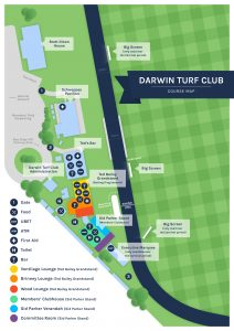Darwin Turf Club Course Map