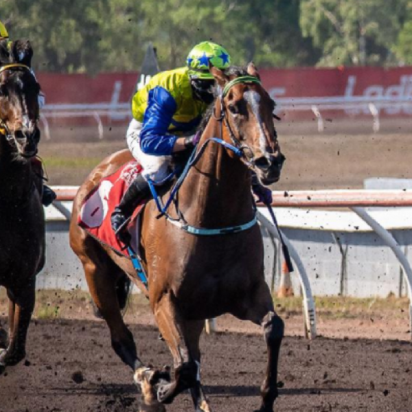 Darwin trainer Phil Cole's Exact Replica records special victory in the Melanie Tyndall Memorial